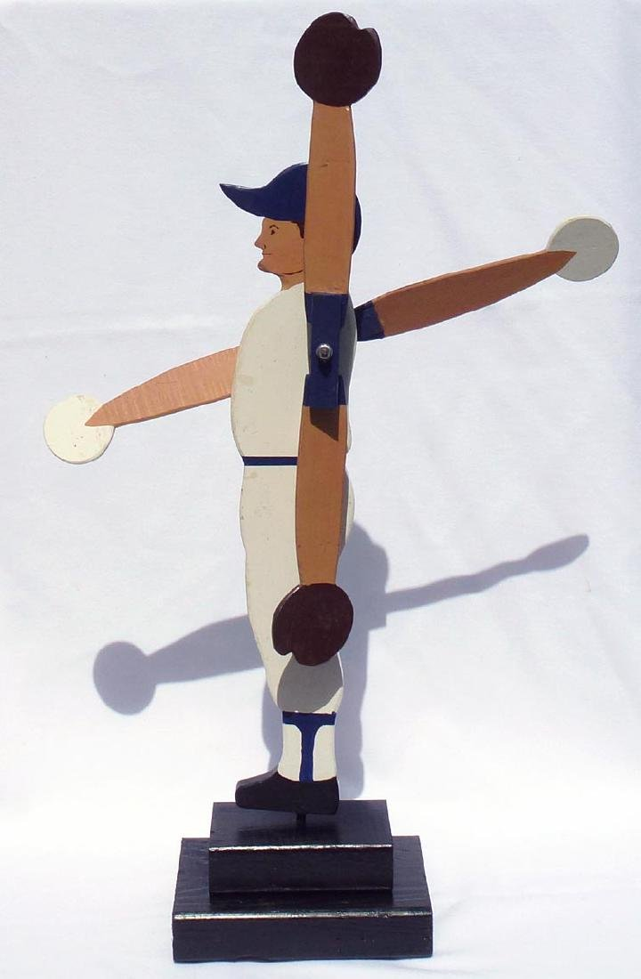 Baseball player whirligig Chicago Cubs #31 - 4