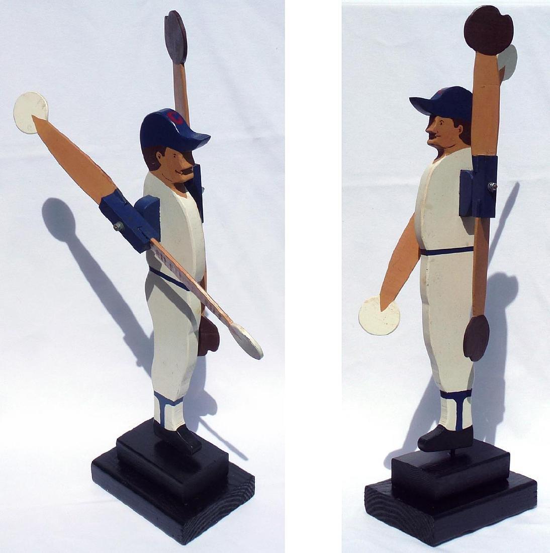 Baseball player whirligig Chicago Cubs #31 - 5