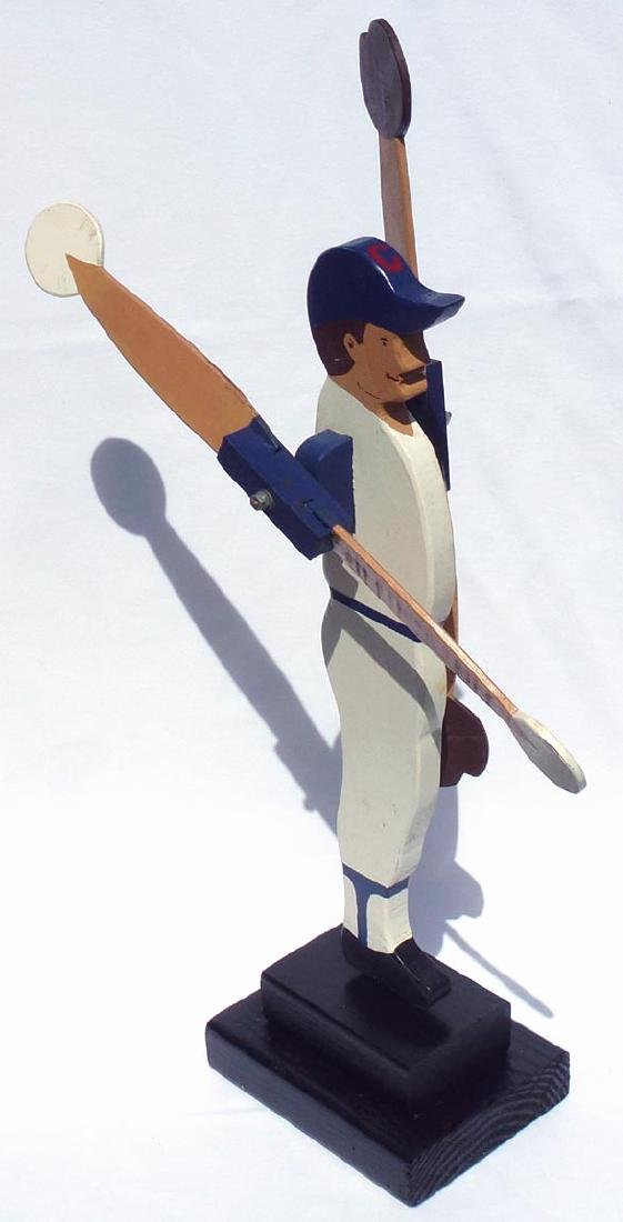 Baseball player whirligig Chicago Cubs #31 - 6