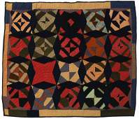 200 Folk Art quilt absolutely wonderful bold look