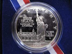 1986s Statue Of Liberty Silver Dollar Proof
