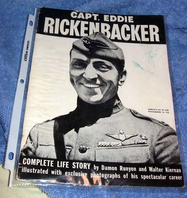 8: 1942 AVIATION PUBLICATION CAPT EDDIE RICKENBACKER