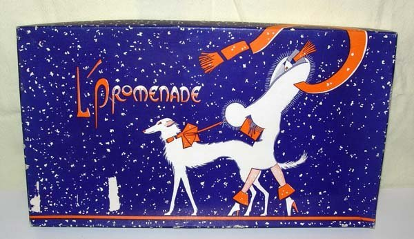 14: 1920's ART DECO GRAPHICS STATIONARY L'PROMENADE