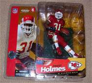 146 McFARLANE PRIEST HOLMES SERIES 6 KANSAS CITY CHIEF
