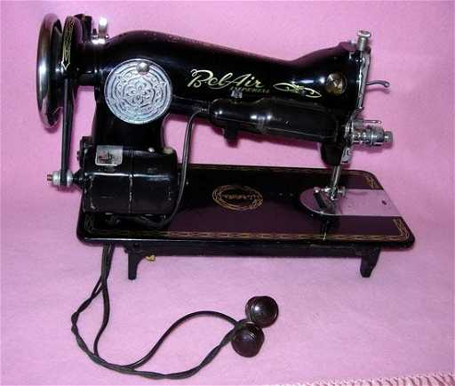 40 40'S BELAIR IMPERIAL SEWING MACHINE OCCUPIED J Inspiration Belair Sewing Machine