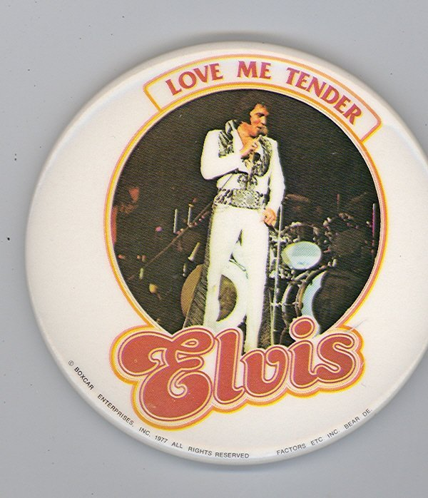 1001: 1977 ELVIS PRESLEY CONCERT TENDER BUTTON
