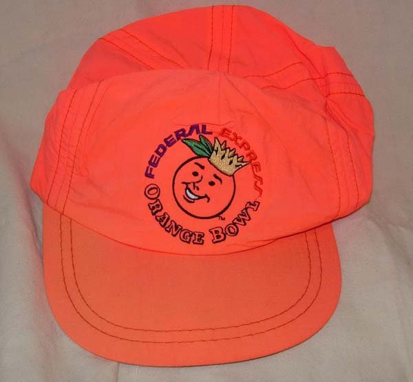 1048: 1994 NEBRASKA TOM OSBORNE ORANGE BOWL HAT