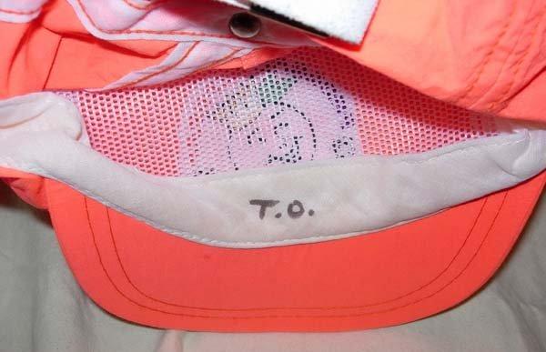 1048: 1994 NEBRASKA TOM OSBORNE ORANGE BOWL HAT - 2