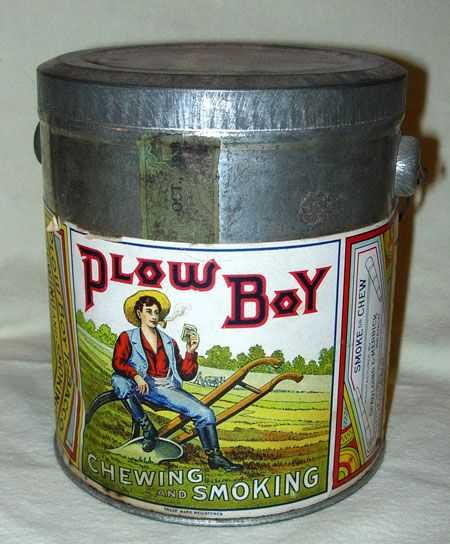 1433 1938 Plow Boy Tobacco Tin By Liggett Amp Myers Toba
