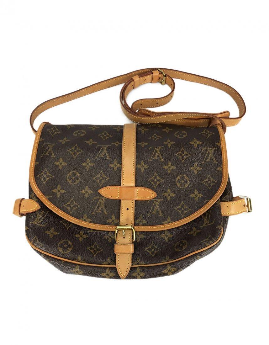 Louis Vuitton Saumur 30 Brown Monogram Canvas Bag
