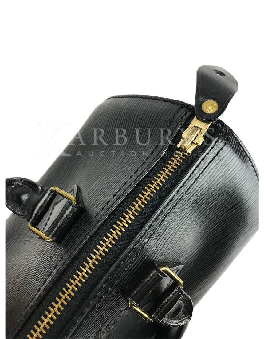 Louis Vuitton Speedy Noir Epi 25 Black Leather Handbag - 5