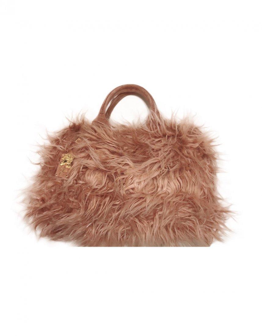 Prada Eco Fur Phard Tote Handbag BN1918