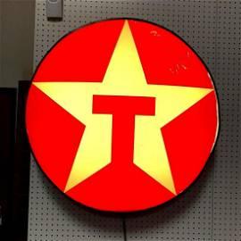 Vintage Texaco Star Lighted Sign