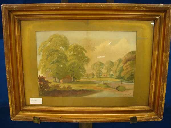 9: Watercolor by W. Baldry