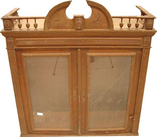 409: Victorian bookcase top