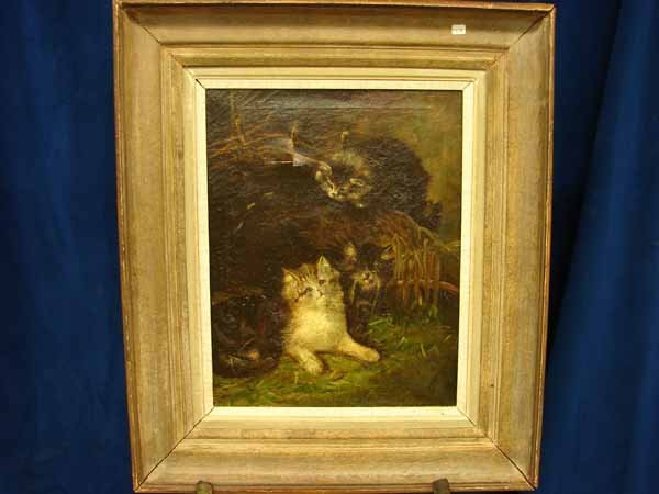 804: P519 oil of cats, damaged