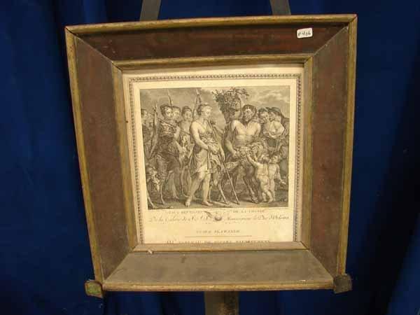 807: P406 engraving After Ruben