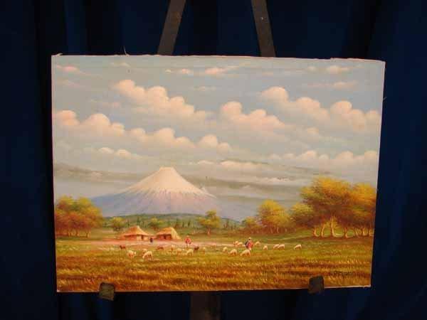 821: No # /Acrylic on canvas