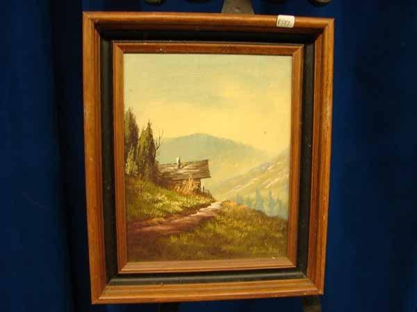 822: P 587 / photo 1646  Oil on Canvas