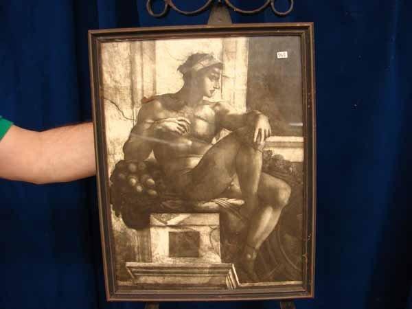 824: P323 (wrong #) print of naked man