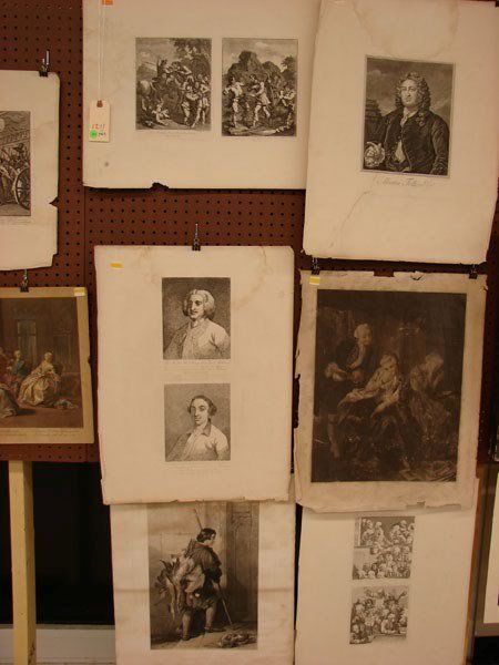 2011: Prints/Engravings - Set of 9 Pieces (See Photos)