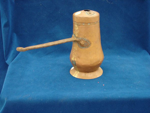 2503: 1 item: Brass pouring tool