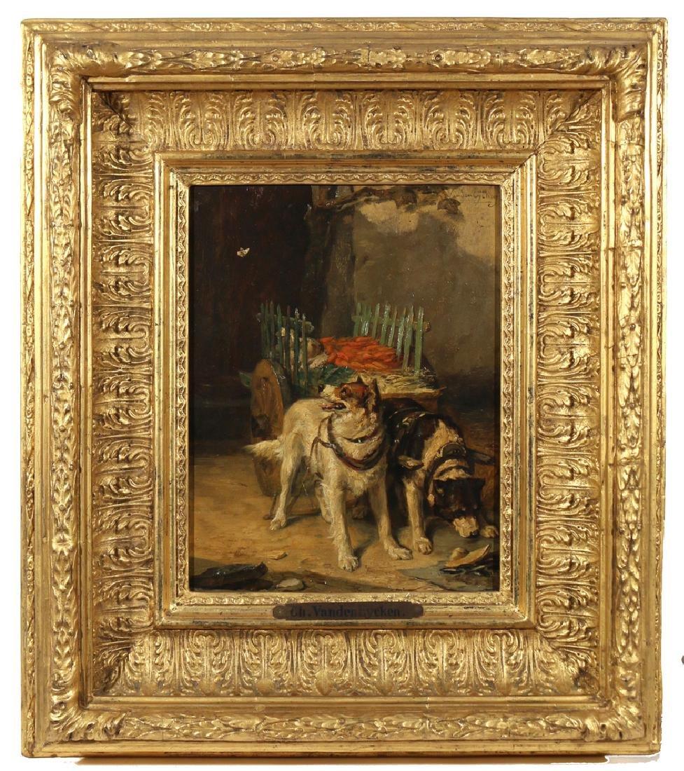 CHARLES VAN DEN EYCKEN II (Belgian, 1859-1923) - 2