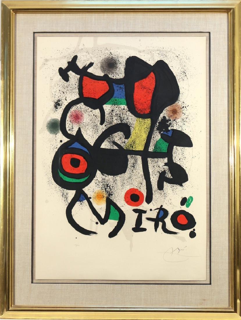 JOAN MIRO (Spanish, 1893-1983), - 2