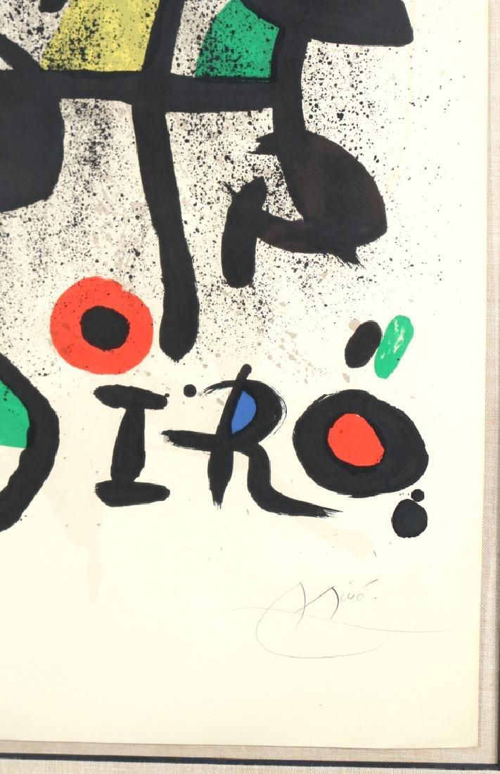 JOAN MIRO (Spanish, 1893-1983), - 5