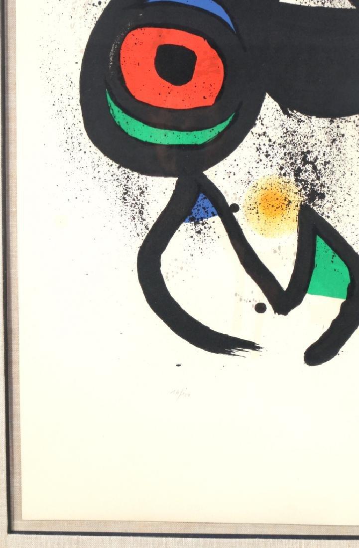 JOAN MIRO (Spanish, 1893-1983), - 6