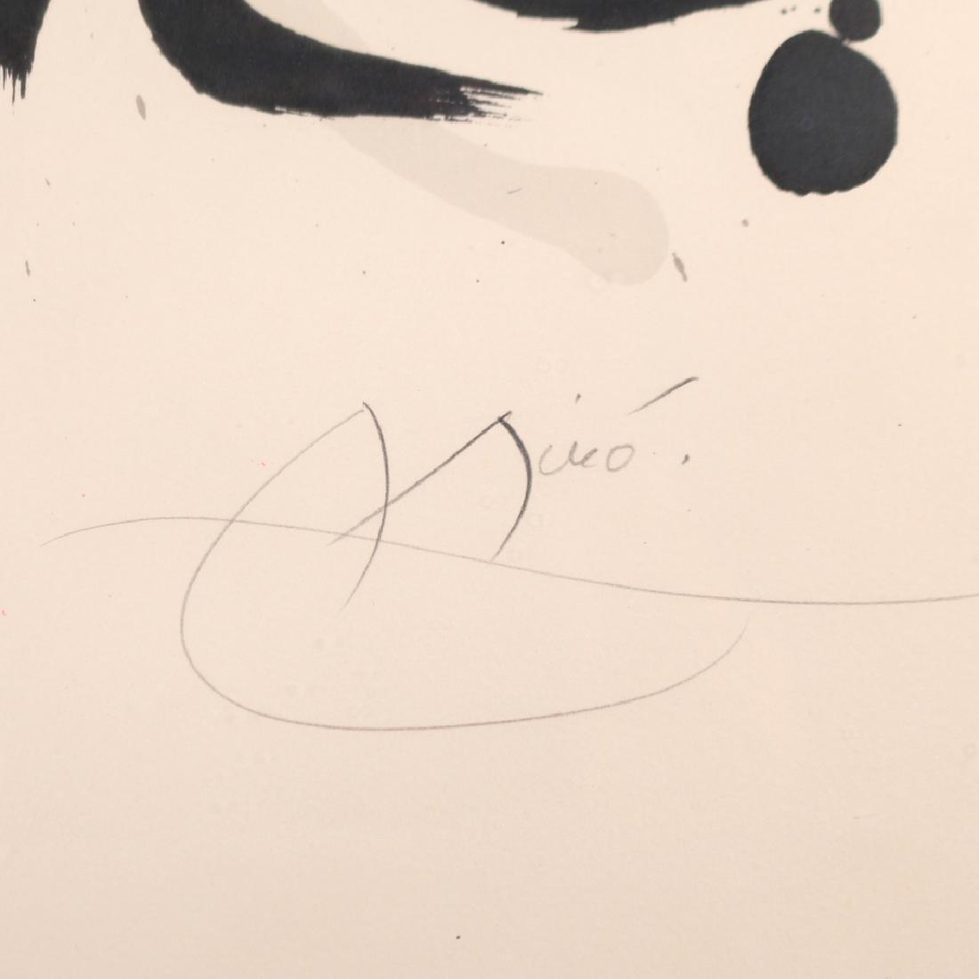 JOAN MIRO (Spanish, 1893-1983), - 8