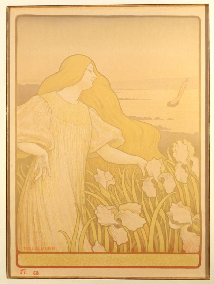 (2pc) PAUL BERTHON (French, 1872-1909) - 2