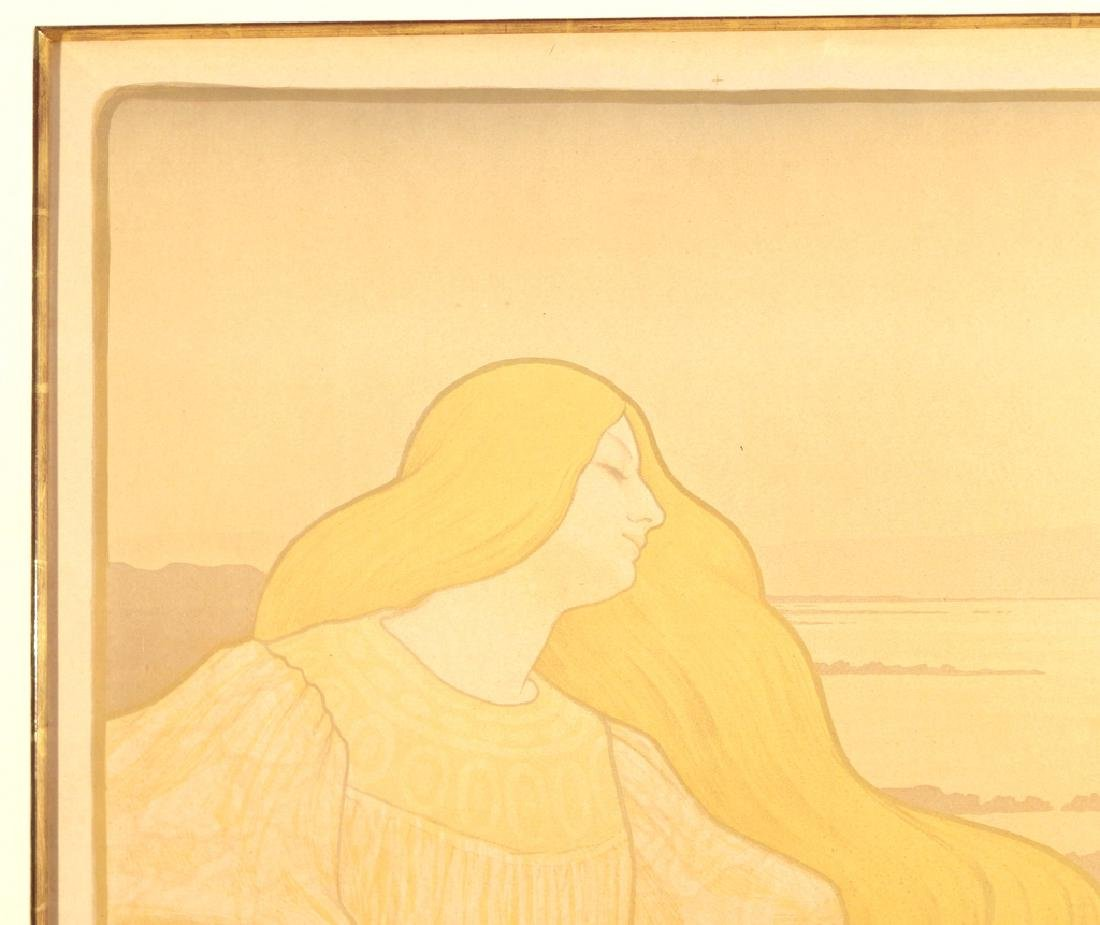 (2pc) PAUL BERTHON (French, 1872-1909) - 3