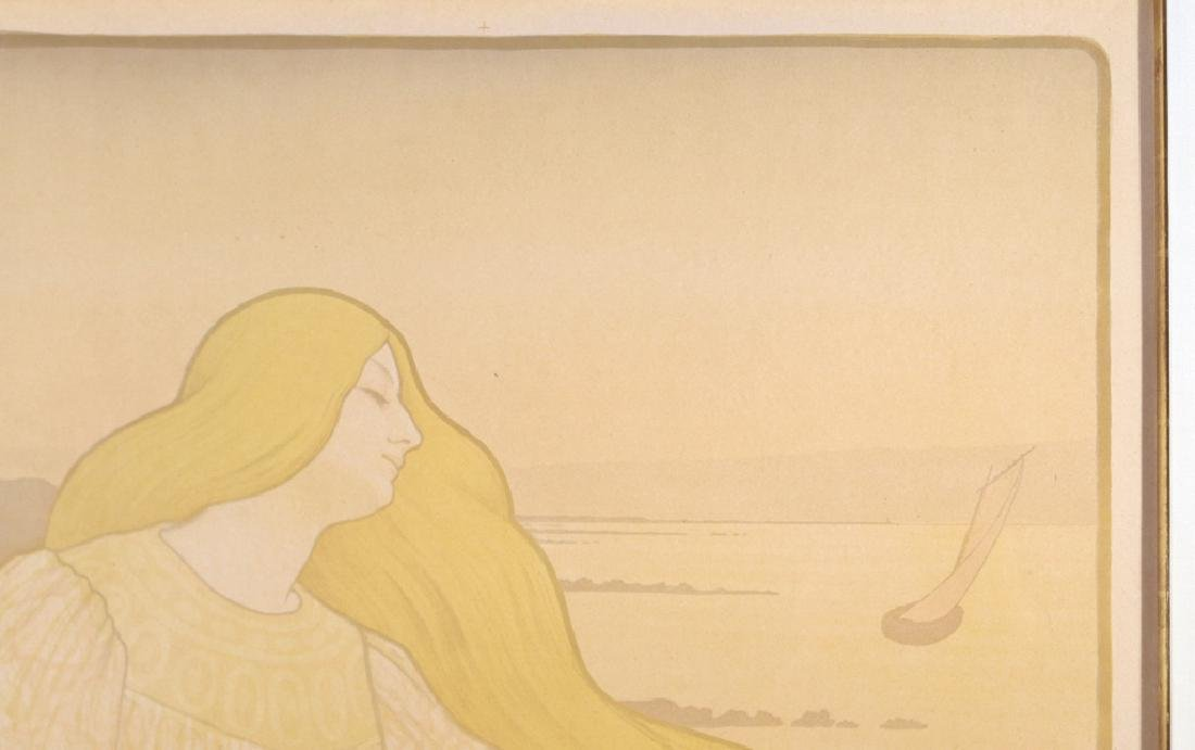 (2pc) PAUL BERTHON (French, 1872-1909) - 4