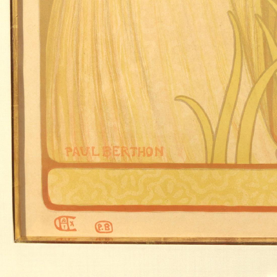 (2pc) PAUL BERTHON (French, 1872-1909) - 6