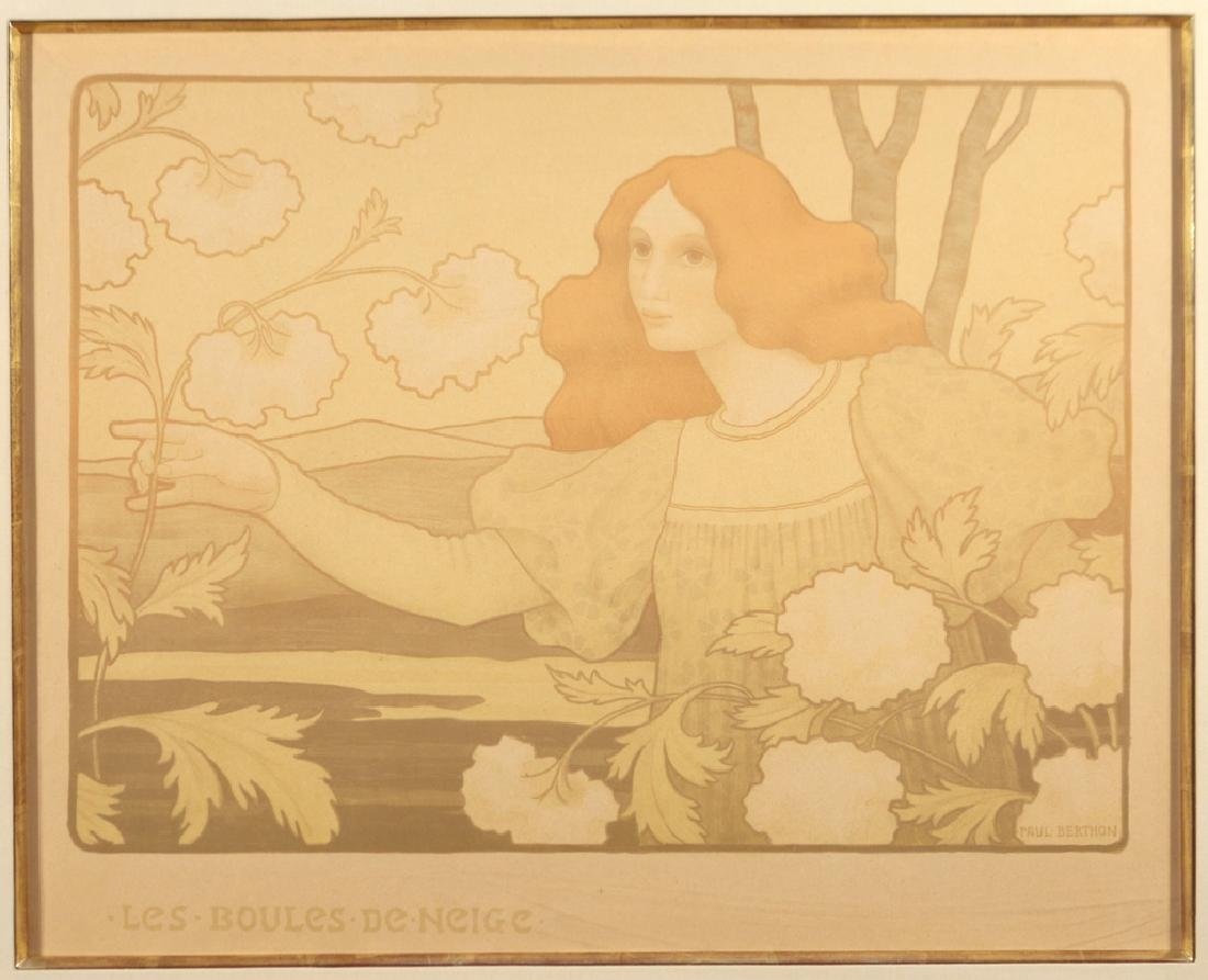 (2pc) PAUL BERTHON (French, 1872-1909) - 7