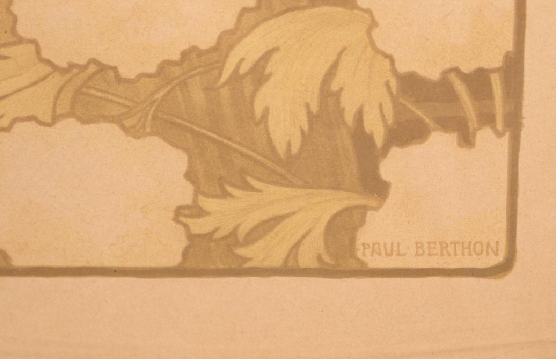 (2pc) PAUL BERTHON (French, 1872-1909) - 9