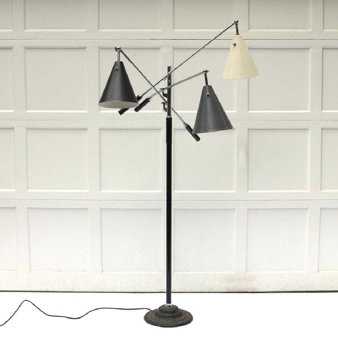 GINO SARFATTI TRIENNALE FLOOR LAMP