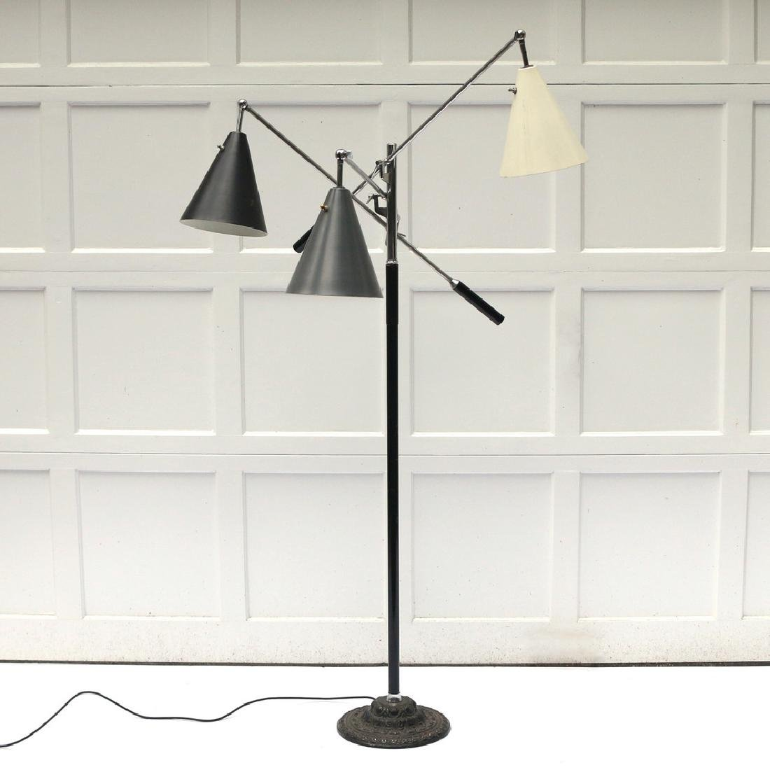 GINO SARFATTI TRIENNALE FLOOR LAMP - 2