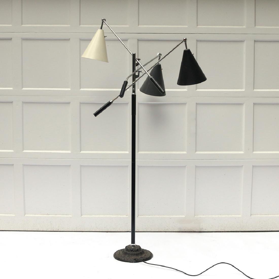 GINO SARFATTI TRIENNALE FLOOR LAMP - 3