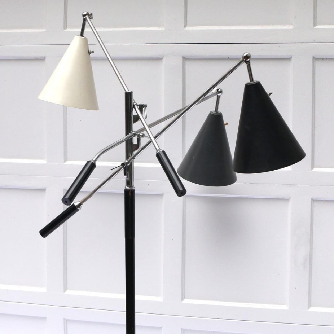 GINO SARFATTI TRIENNALE FLOOR LAMP - 4