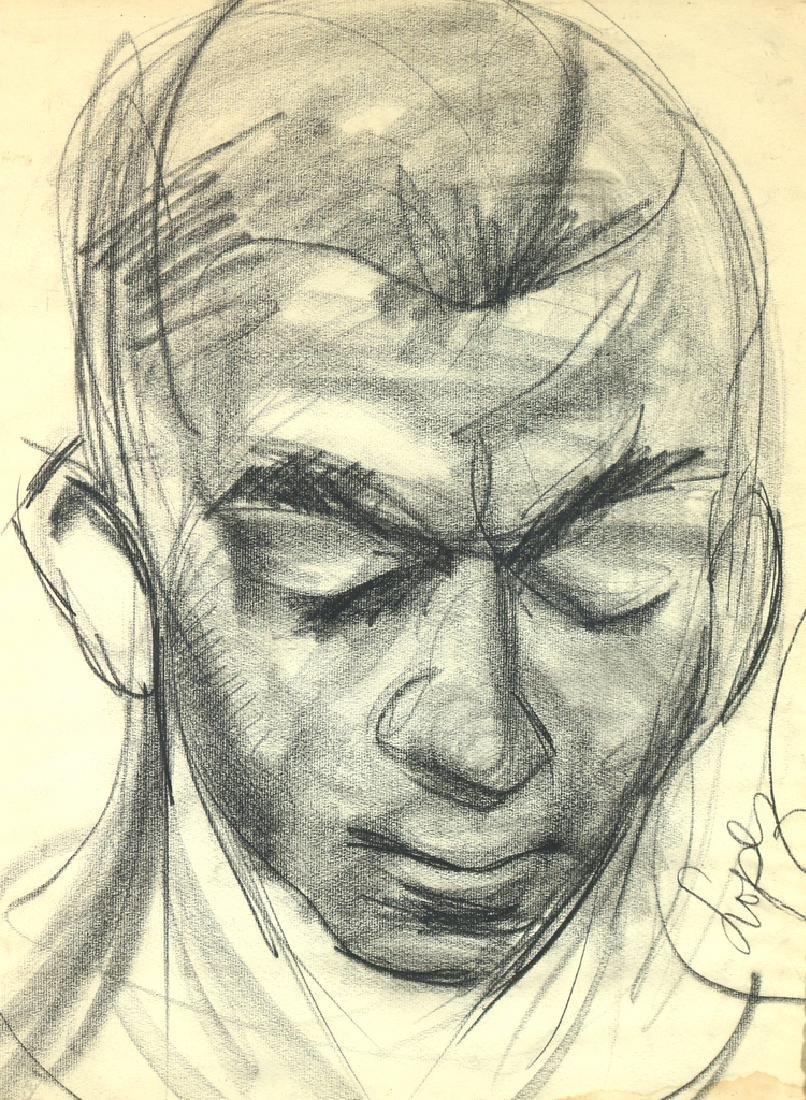 [PORTRAIT OF HINES] ANTONIO LOPEZ (1943-1987)