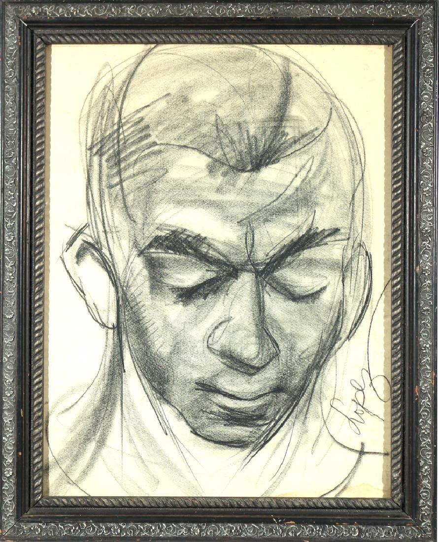 [PORTRAIT OF HINES] ANTONIO LOPEZ (1943-1987) - 2