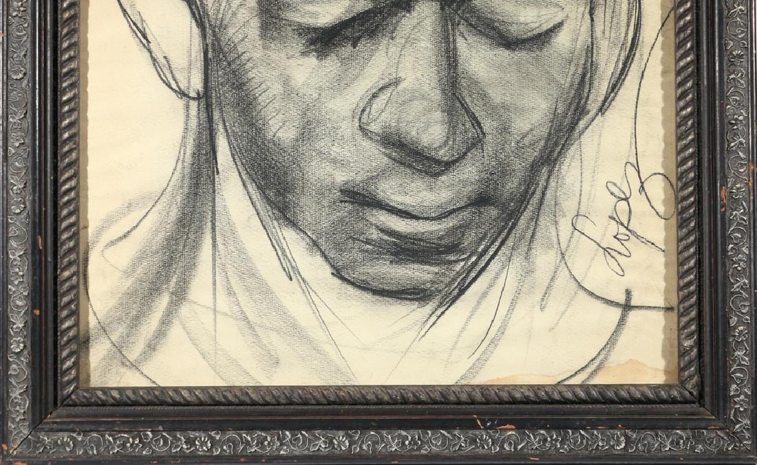 [PORTRAIT OF HINES] ANTONIO LOPEZ (1943-1987) - 6