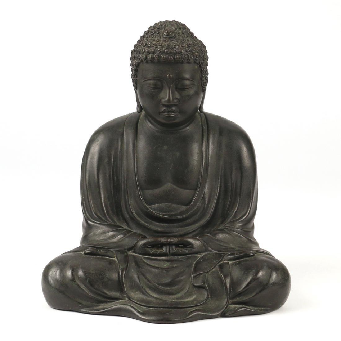CHINESE BRONZE BUDDHA AMITABHA
