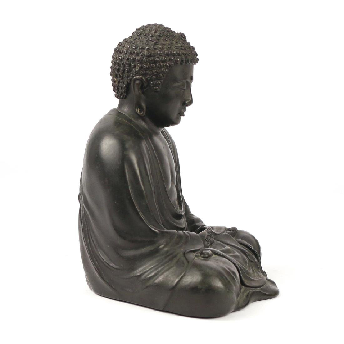 CHINESE BRONZE BUDDHA AMITABHA - 6