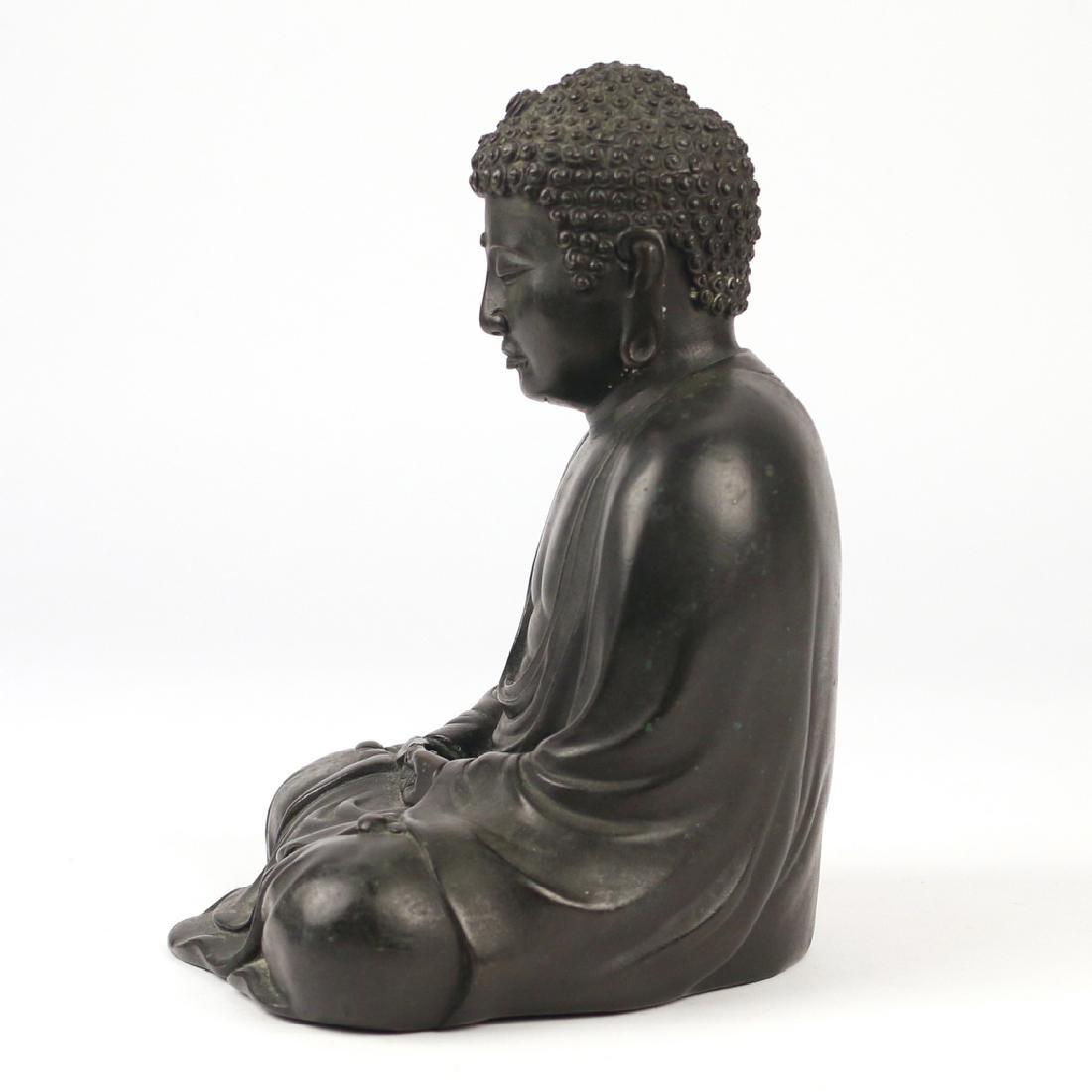 CHINESE BRONZE BUDDHA AMITABHA - 7