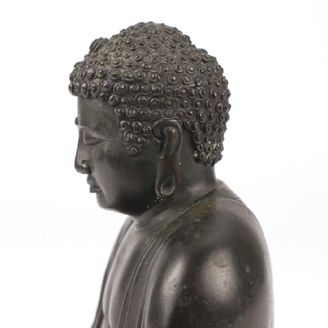 CHINESE BRONZE BUDDHA AMITABHA - 8