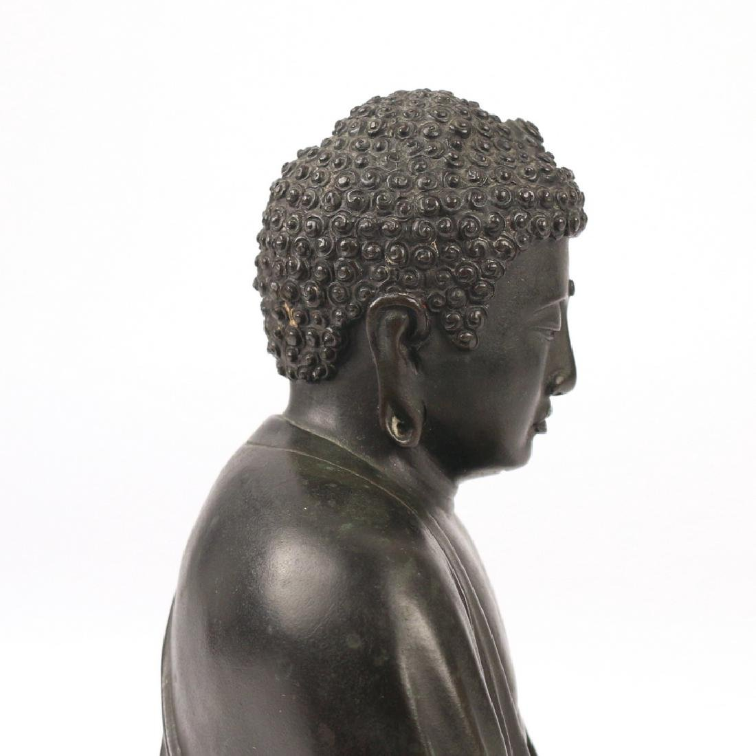 CHINESE BRONZE BUDDHA AMITABHA - 9