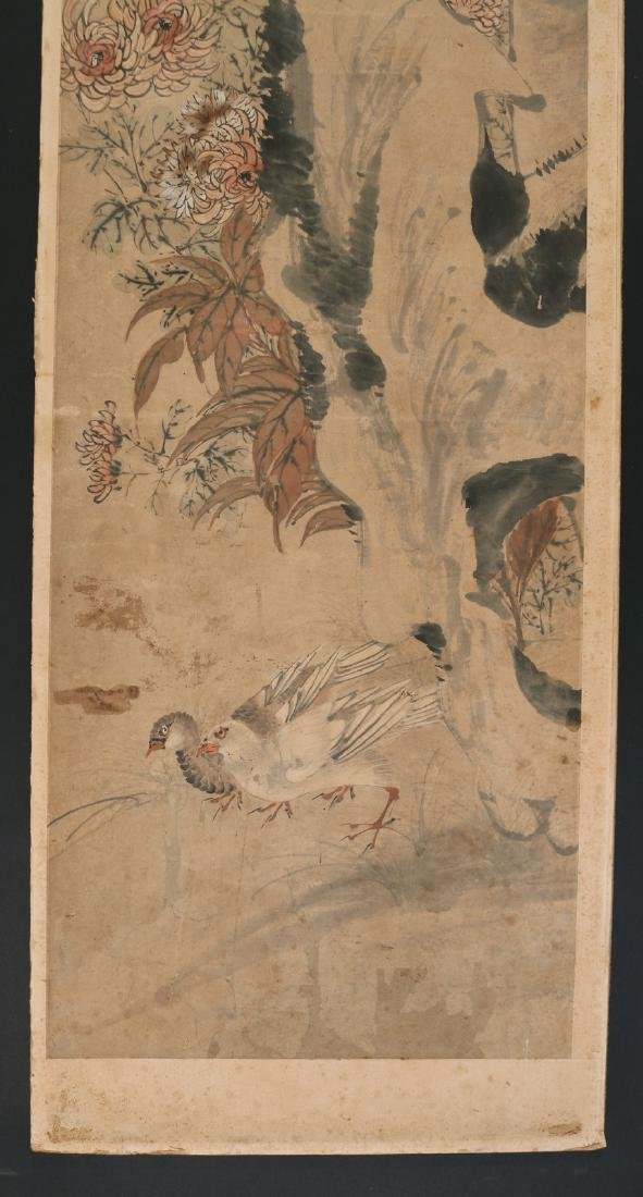 (4pc) CHINESE SCHOOL PAINTINGS - 3